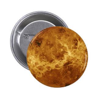 Foto do planeta de Venus Bóton Redondo 5.08cm