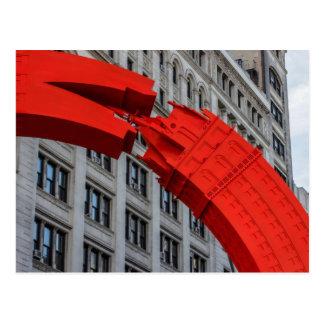 Foto do quadrado da união da Nova Iorque Cartão Postal