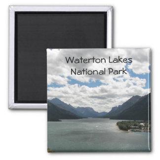 Foto do viagem dos lagos Waterton Íman