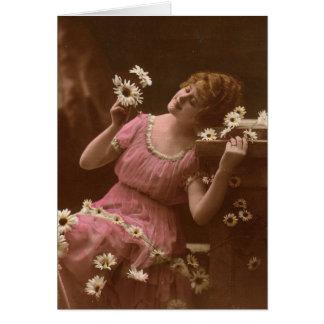 Foto do vintage cartão comemorativo