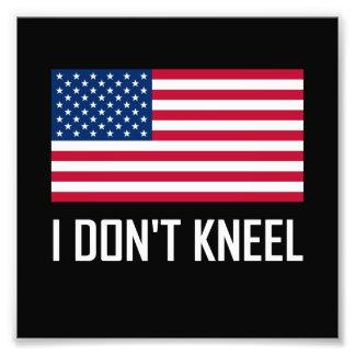 Foto Eu não me ajoelho hino nacional de bandeira
