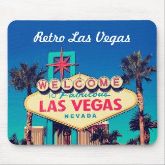foto fabulosa retro de Las Vegas Nevada dos anos Mouse Pad