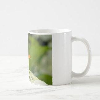 Foto floral de alta qualidade caneca de café