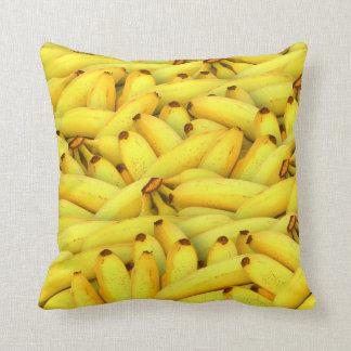 foto fresca da fruta das bananas do verão almofada