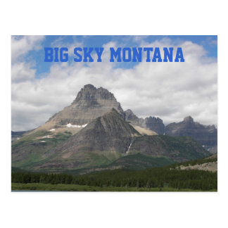 Foto grande do viagem de Montana do céu Cartão Postal