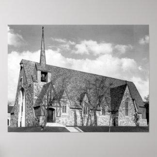 Foto histórica de St Paul Poster