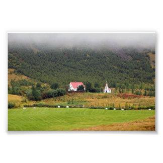 Foto Igreja de Silfrastadakirkja em Islândia