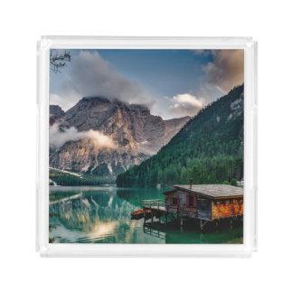 Foto italiana da paisagem do lago mountains
