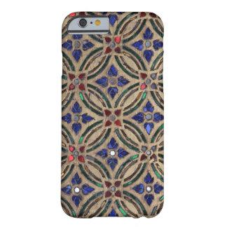 Foto marroquina de vidro da pedra do teste padrão capa barely there para iPhone 6