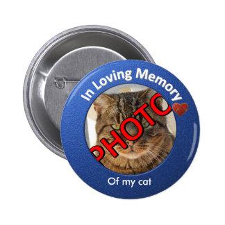 Foto memorável personalizada bóton redondo 5.08cm