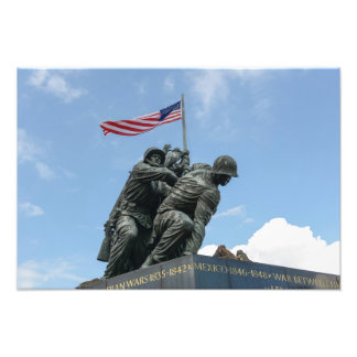 Foto Memorial de Iwo Jima no Washington DC