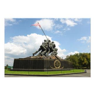 Foto Memorial de Iwo Jima no Washington DC