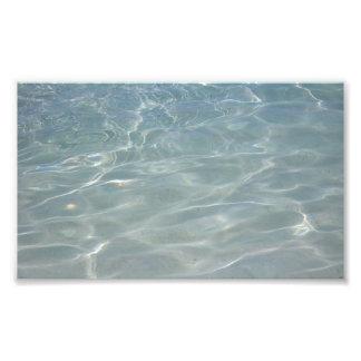 Foto Natureza das caraíbas do azul do abstrato da água