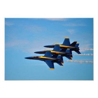 Foto Os anjos azuis que vêm em casa