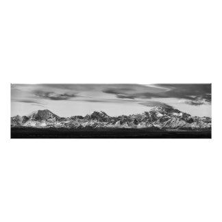 Foto Panorama da escala de Alaska