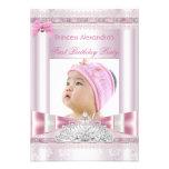 Foto pequena da festa de aniversário da princesa M Convites Personalizados