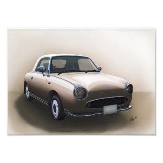 Foto Poster da névoa do topázio de Nissan Figaro