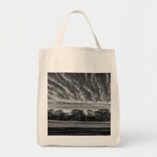 Foto preto e branco da paisagem do Central Park Bolsa De Lona