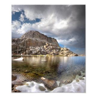 Foto Trono de Wotans sobre o lago 2 camp da fuga - Mt