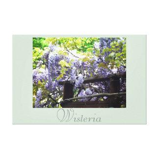 Fotografia 2 da natureza da arte da flor das impressão de canvas esticada