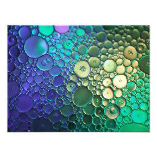 Fotografia abstrata da bolha