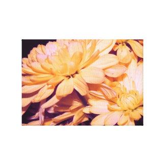 Fotografia da flor impressão em tela
