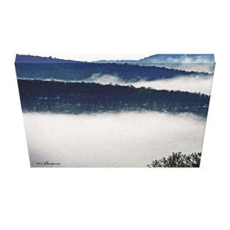 Fotografia da montanha impressão em canvas