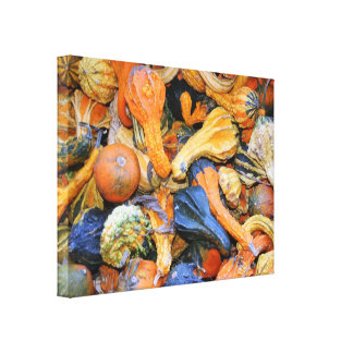 Fotografia das cabaças de Gourdgeous Impressão De Canvas Esticada