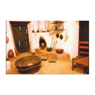 FOTOGRAFIA das CANVAS - COZINHA da MISSÃO dos Impressão Em Tela