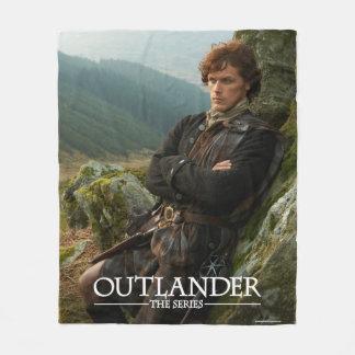 Fotografia de reclinação do Outlander | Jamie Cobertor De Lã