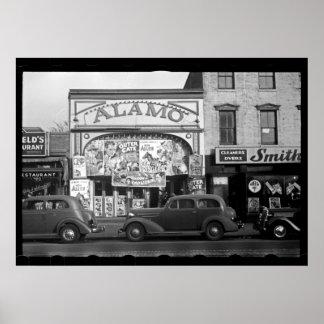 Fotografia do cinema do vintage impressão