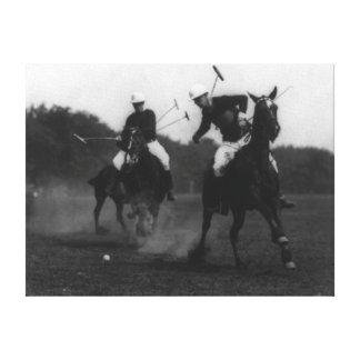 Fotografia do jogo da associação do polo do depart impressão em tela canvas