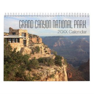 Fotografia do parque nacional do Grand Canyon Calendário
