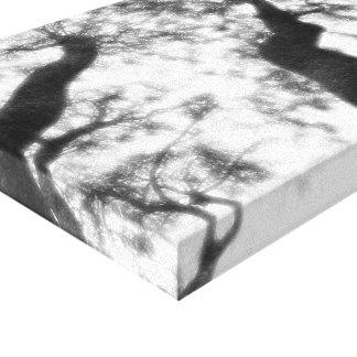 """Fotografia exterior 14"""" x 11"""", 1,5"""", solteiro impressão em tela"""