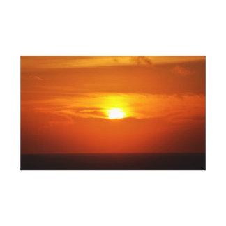 Fotografia, nascer do sol, por do sol, natureza, o impressão em tela