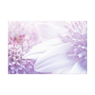 Fotografia Pastel macia da flor Impressão Em Tela Canvas