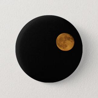 FOTOGRAFIA redonda do botão da LUA CHEIA Bóton Redondo 5.08cm