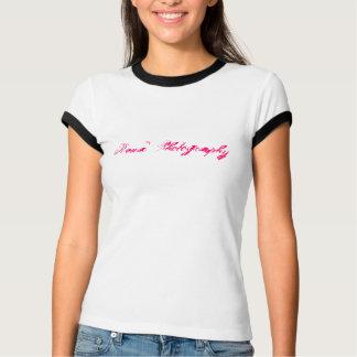 Fotografia T branco de Rena Camiseta