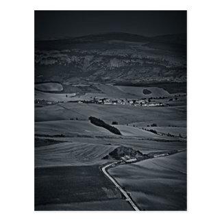 fotografias del Camino de santiago Cartão Postal