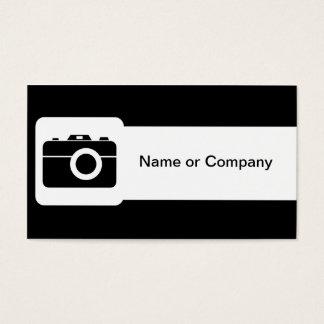 Fotografo Cartão De Visitas