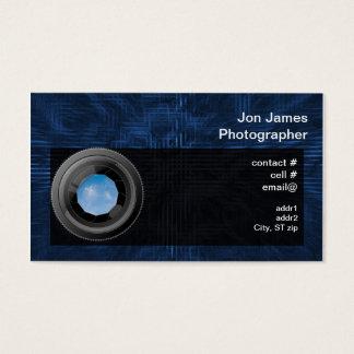 Fotógrafo Cartão De Visitas