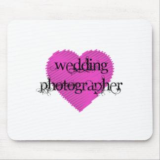 Fotógrafo do casamento mouse pad