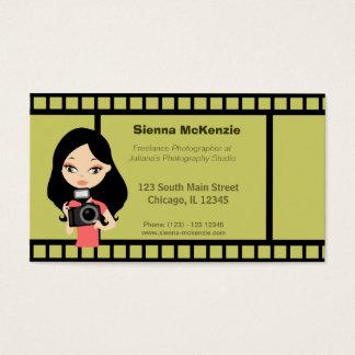 Fotógrafo Freelance Cartão De Visitas