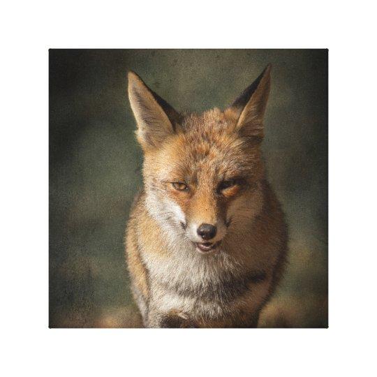 Fox Impressão Em Tela