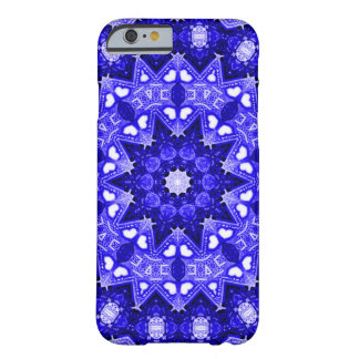 Fractal azul capa barely there para iPhone 6