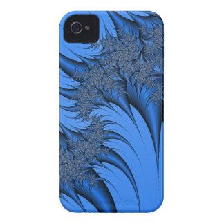 Fractal azul capa iPhone 4