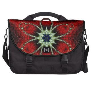 Fractal do vermelho do saco da viagem ao trabalho