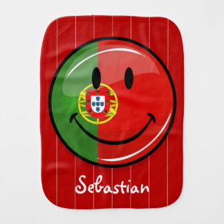 Fralda De Boca Bandeira portuguesa de sorriso
