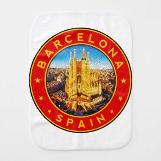 Fralda De Boca Barcelona, Spain, circle, red