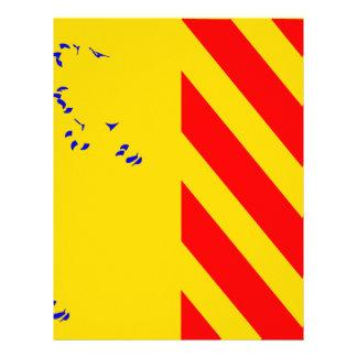 France-Bandeira Papel Timbrado